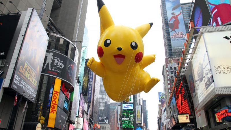 pikachu macy's thanksgiving parade
