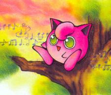 jigglypuff jungle art