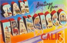 greetings from san francisco postcard 1