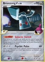 Bronzong G Platinum PL 41 Pokemon Card