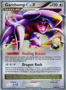 Garchomp C LV.X Supreme Victors SV 145 Pokemon Card
