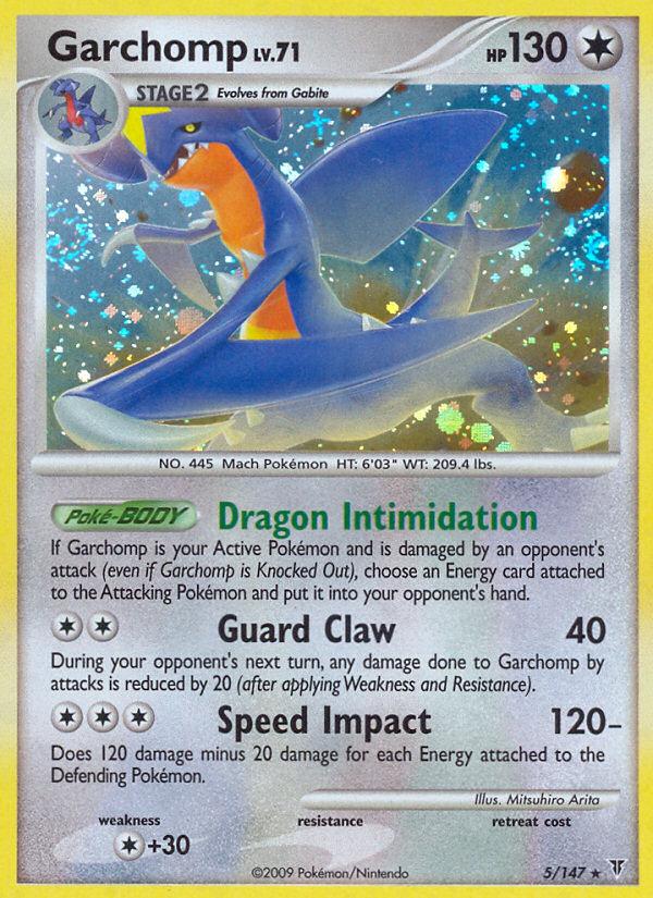 Garchomp Supreme Victors SV 5 Pokemon Card