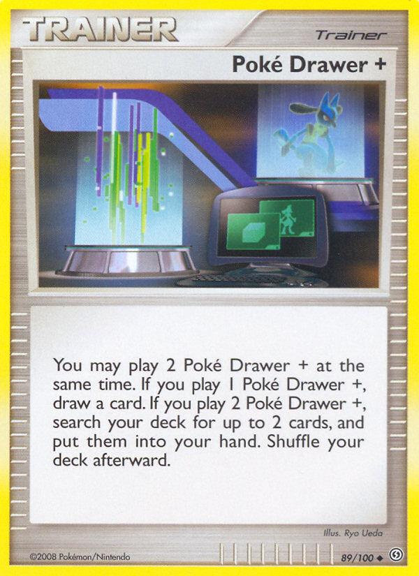 Poke Drawer + Stormfront SF 89 Pokemon Card