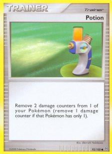 Potion Stormfront SF 92 Pokemon Card