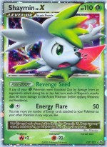 Shaymin LV.X Platinum PL 127 Pokemon Card