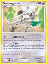 Smeargle Secret Wonders SW 66 Pokemon Card