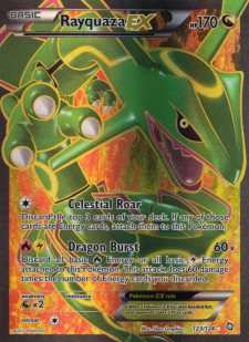 rayquaza dragons exalted drx 123