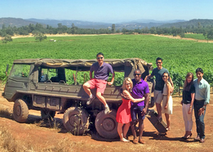 Vineyard tour at Six Sigma Ranch