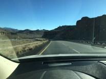 I-40, Getting close to California