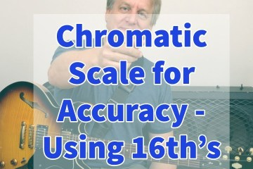 Chromatic Scale Exercise for Accuracy: 16th Notes