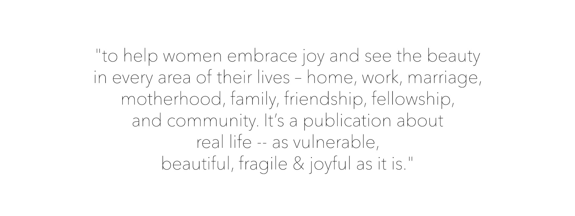 Joyful Life Quote