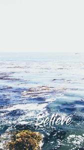 Believe Ocean Lockscreen