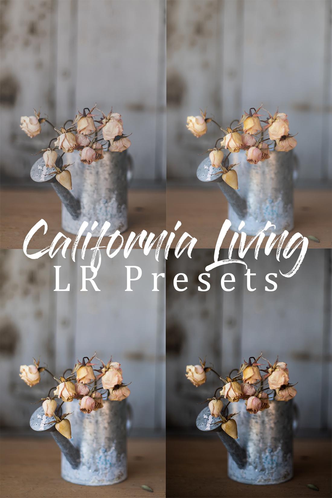 California Living LR Presets