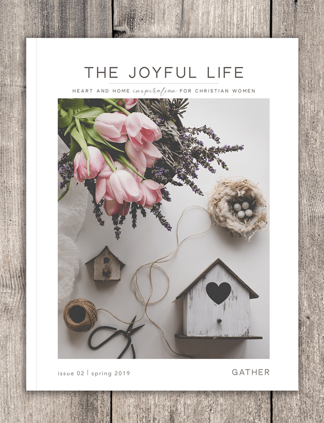 The Joyful Life Magazine, Sixteen Miles Out, Christian Women's Magazine,