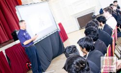 Land Speed World Record Holder Andy Green Delivers A Tale To Newham Collegiate Sixth Form (The NCS) Students