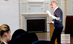 Evan Davis Talks To NCS Students About His Career As Part Of Our Lecture Programme