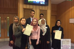 Newham Collegiate Sixth Form Centre (The NCS) students win 'Best Delegation Award' in prestigious Model United Nations Conference
