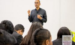 Nobel laureate Venki Ramakrishnan Runs A Lecture For NCS Med School Students