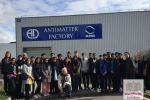 Newham Collegiate Sixth Form Centre (The NCS) Students Visit CERN In Geneva