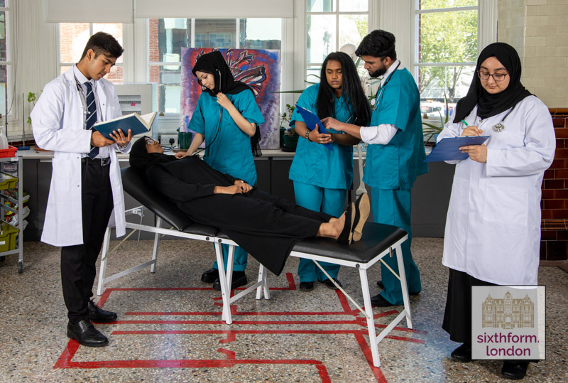 NCS Med School - Medical students who attend the Newham Collegiate Sixth Form Centre