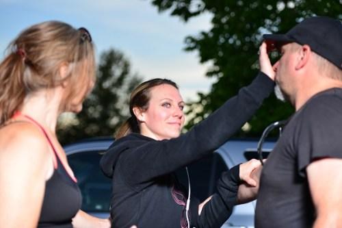 Women's Self Defence workshop Victoria nose strike