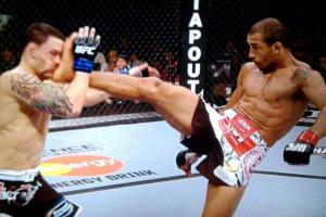 Jose Aldo rib injury