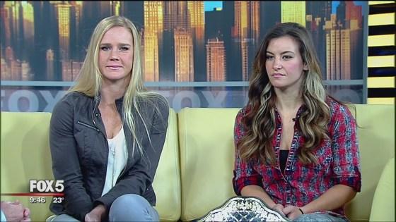 Holly Holm vs. Miesha Tate