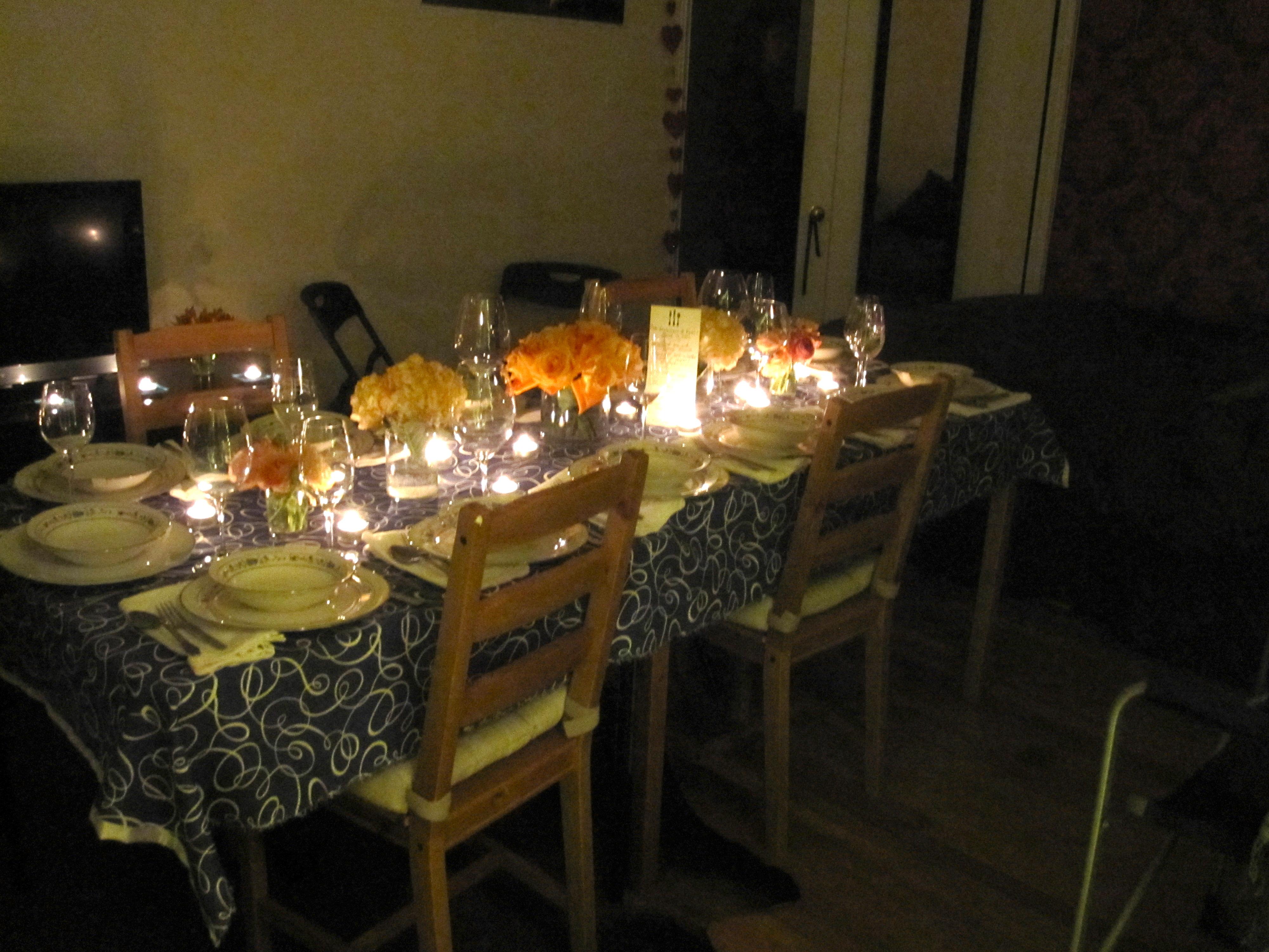 A French Half Birthday Dinner Six Twists