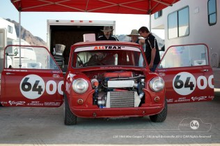 Once we arrived at Bonneville there were a few jobs to do. Photo by Mike Wilson ©2012. All Rights Reserved.