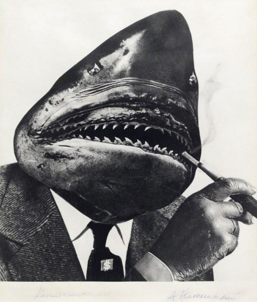 Aleksandr Zhitomirsky. A Capitalist Shark, 1965. Ne boltai! Collection. © Vladimir Zhitomirsky.
