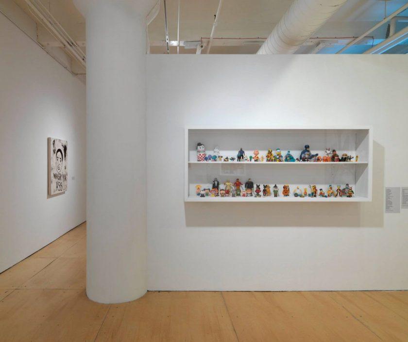 David Leggett at Gallery 400 2016.