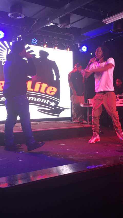 RL Exclusive and Jay Bucks on stage