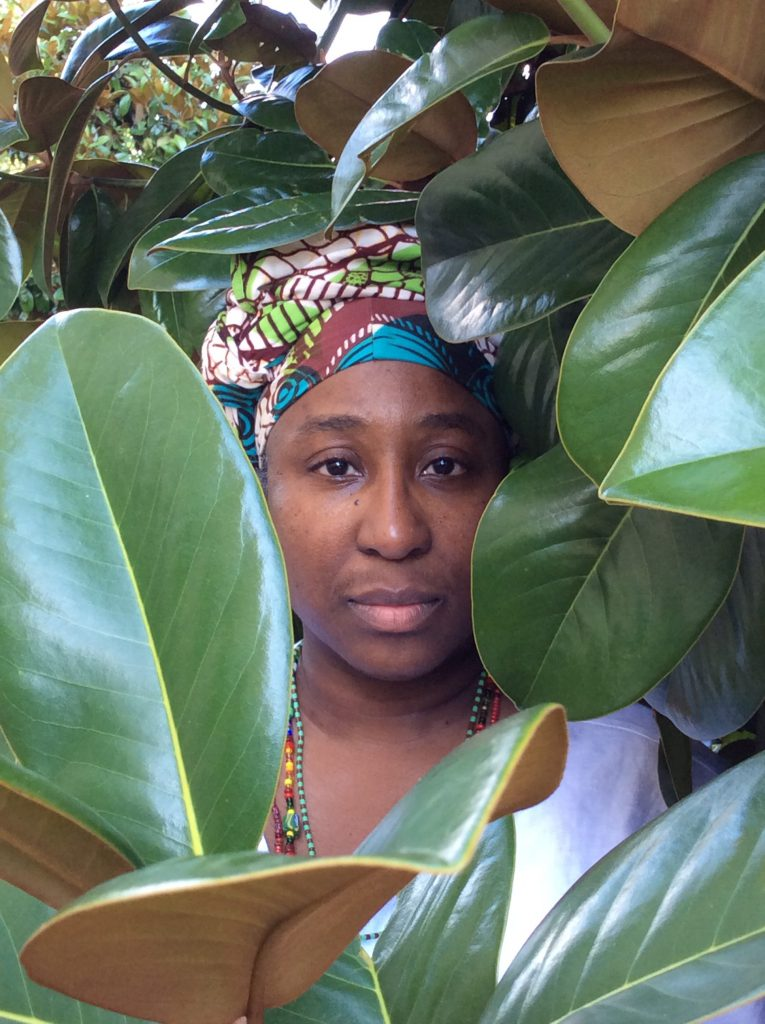 "D. Denenge Duyst-Akpem, ""Maria E. Hamilton Abegunde, Osanyin Commemorative Portrait Series,"" 2017. Image courtesy of the artist."