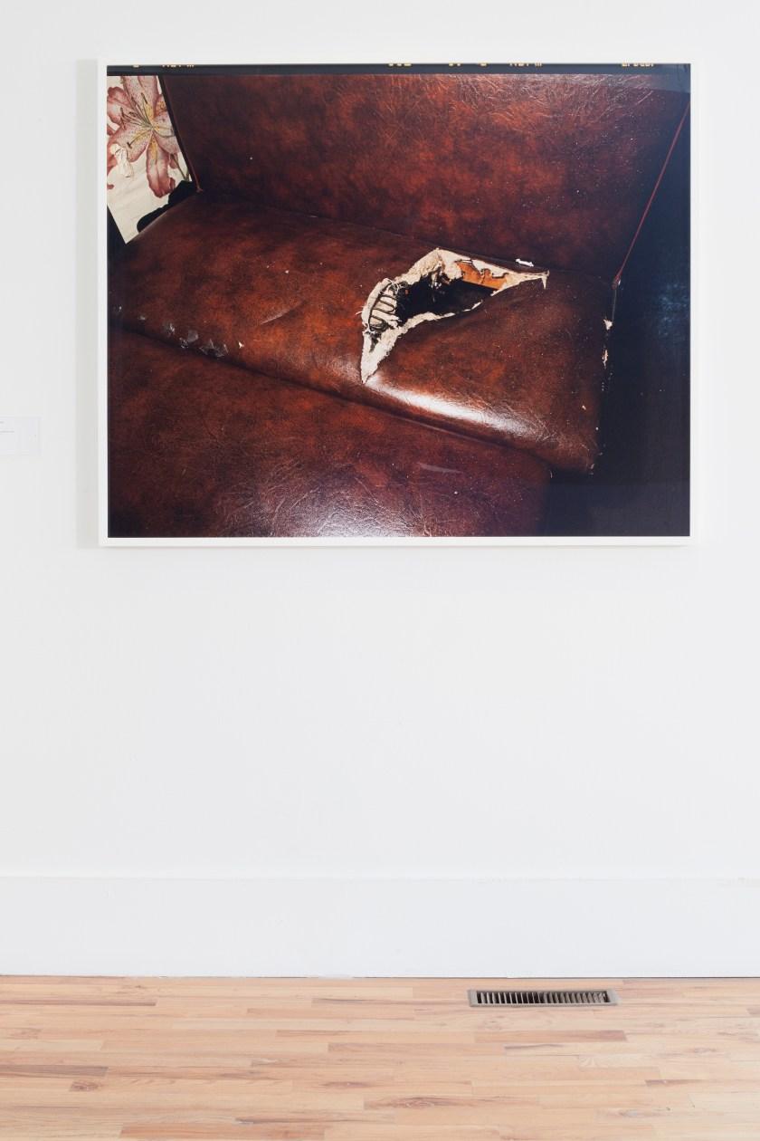 Deana Lawson, Portal, 2017 Inkjet print, mounted on Sintra. Photo by Sara Pooley