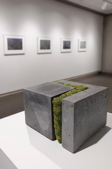 Laura Primozic, Microenvironments 1, concrete, textile. Image courtesy of Lucas Stiegman.
