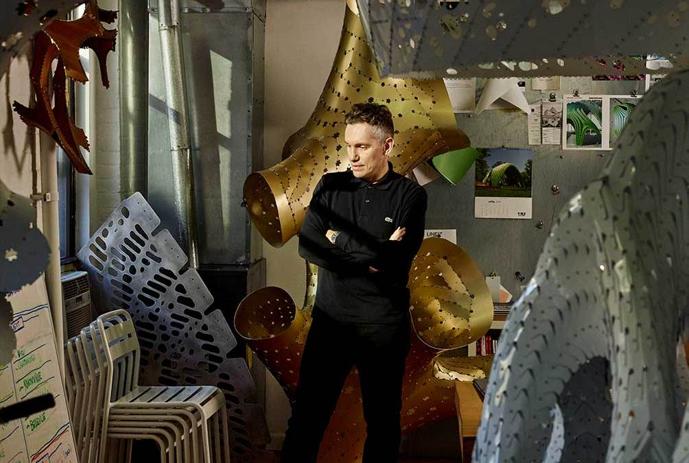 How Marc Fornes Blurs Art with Architecture