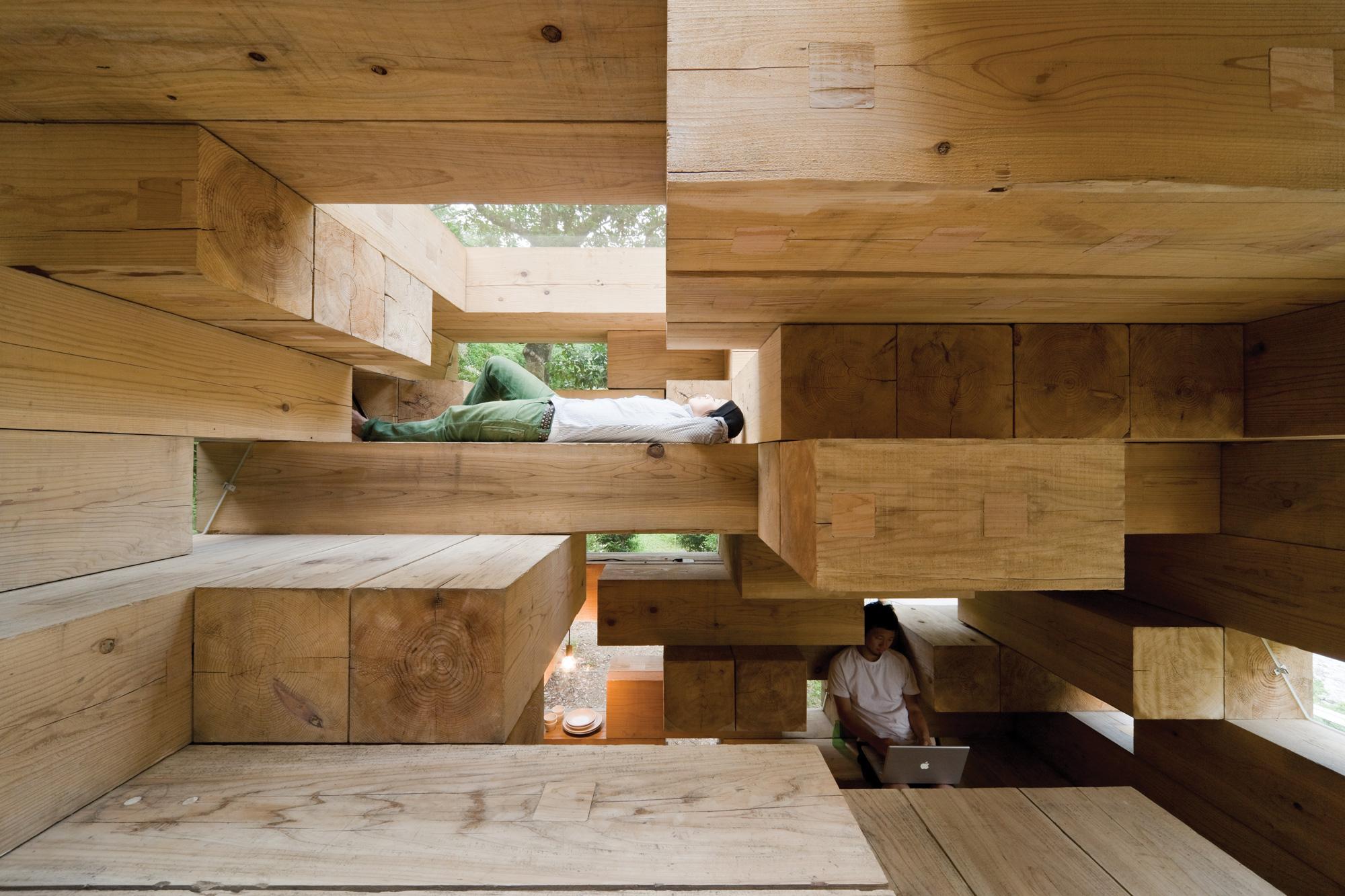 sixtysix mag sou fujimoto final wooden house