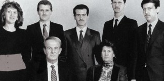 Hafız Esad, Beşar Esad ve Ailesi