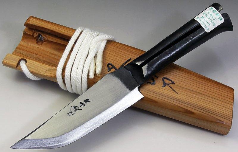 叉鬼山刀 フクロナガサ4.5寸左用