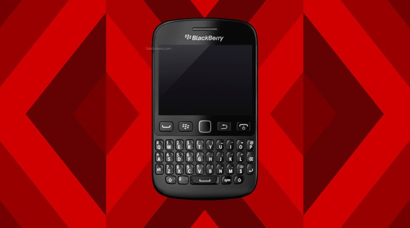 BlackBerry 9720 Screen