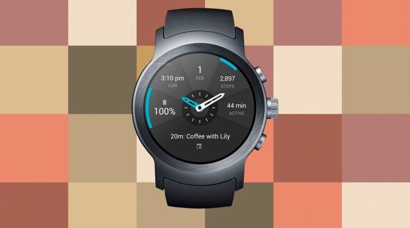 LG Watch Sport Screen