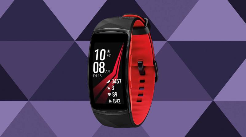 Samsung Gear Fit2 Pro Screen