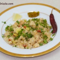 Maharashtrian Mixed Vegetable Upma