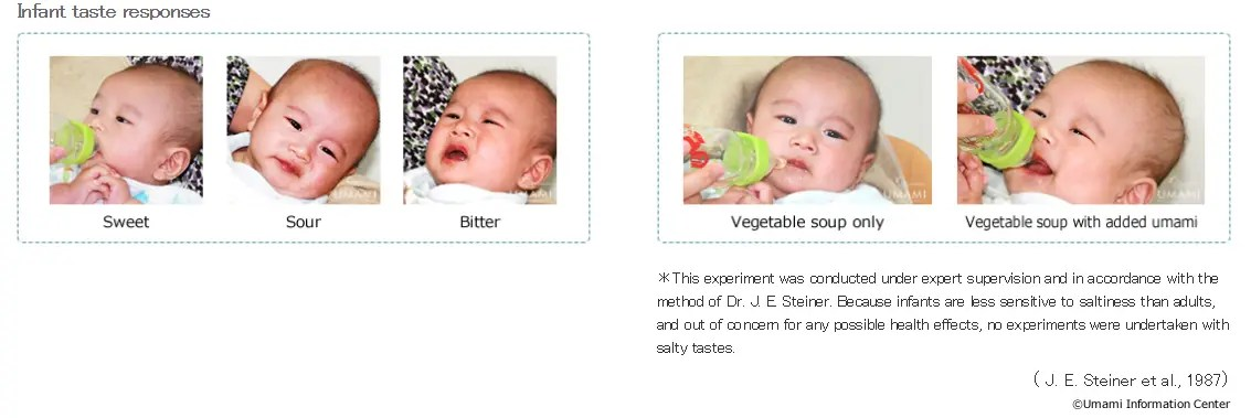 MSG response in babies