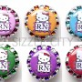 SIZZLE CITY Custom Retractable ID Badge Reels: Hello Kitty RN