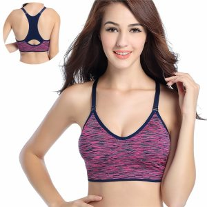 Seamless Yoga Sports Bra For Running