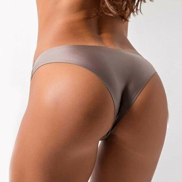 Seamless Nylon Panties Ultra thin Lingerie Plus Size