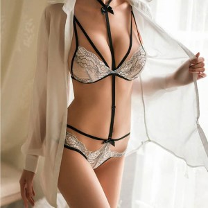 Sizzle Intimates see through bra panty set