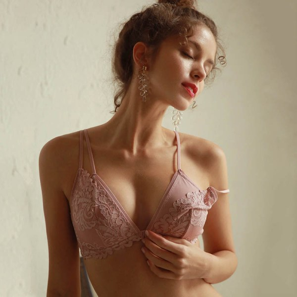 Bra and Transparent Panty lingerie