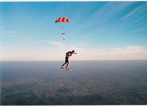 10 Skydiving pictures - 20 Awesome Skydiving Pictures